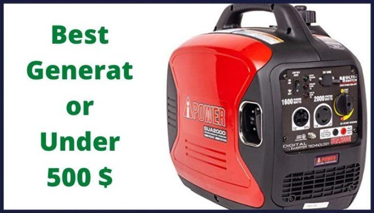 best generator under 500$