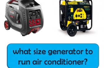 What Size of Generator Do You Need to Run an Air Conditioner
